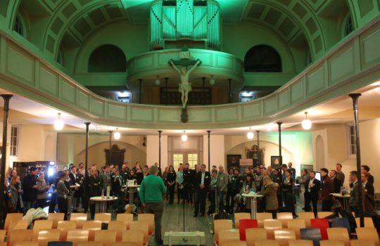 N Klub Veranstaltung in der St. Pauli Kirche Pinnasberg 80 in Hamburg am 9.12.2015