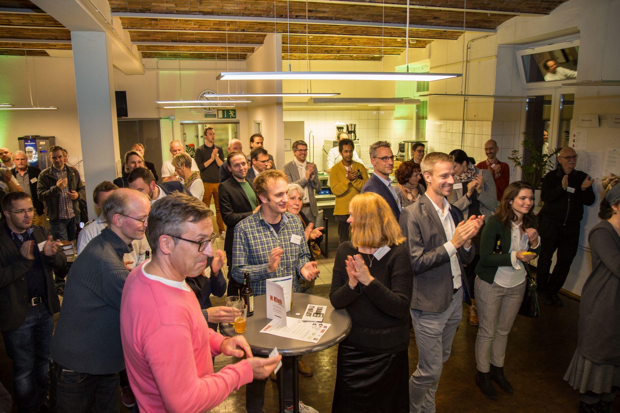 Heilig und Cunitz beim 8. N Klub in Frankfurt – Möglichkeiten urbaner Nachhaltigkeit
