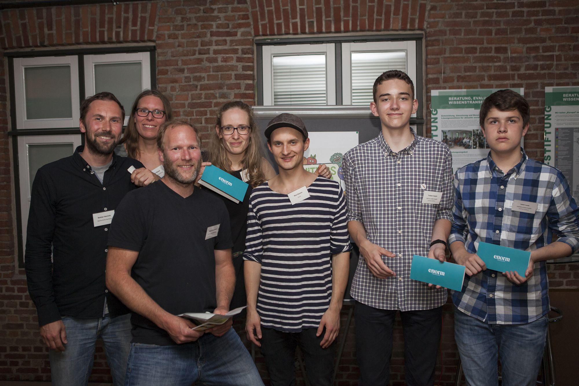 100 Sekunden – 32. N Klub Hamburg, 28.06.2017 Lawaetz Stiftung