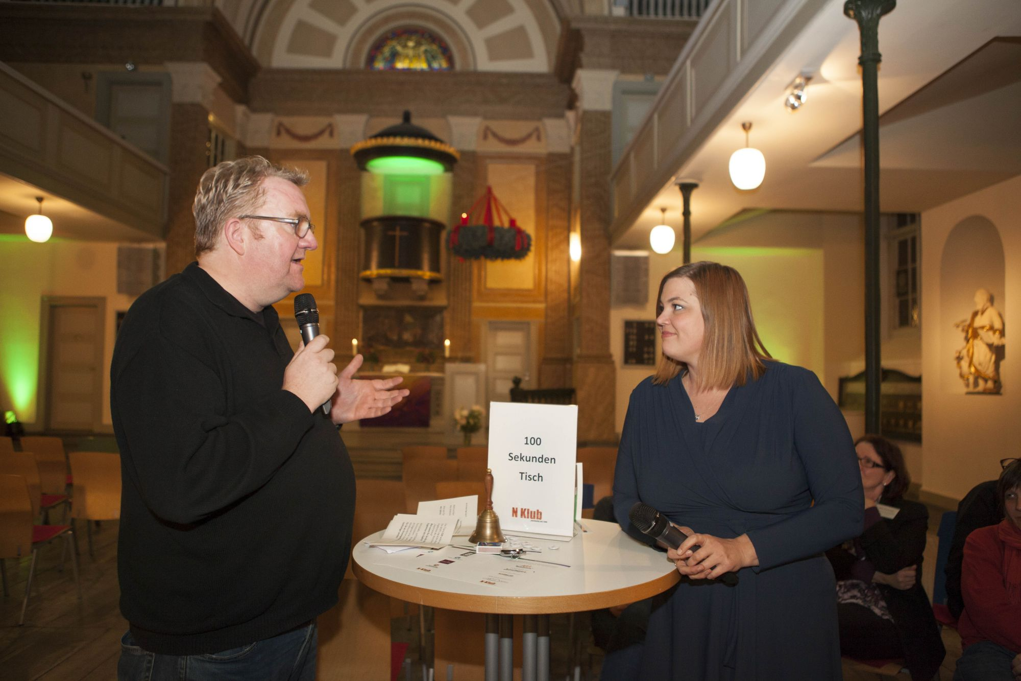 Nachhaltige Ideen von Katharina Fegebank, Frank Otto und Sina Trinkwalder – der 34. N Klub Hamburg
